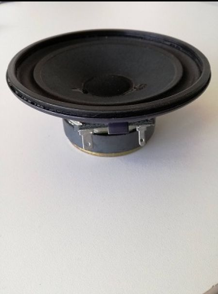 Speaker (round) front left/right