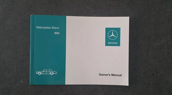 Owner's manual English
