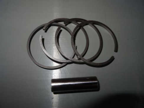 Piston rings for air pressor