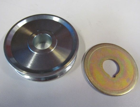 V-Belt pulley for Bosch alternator
