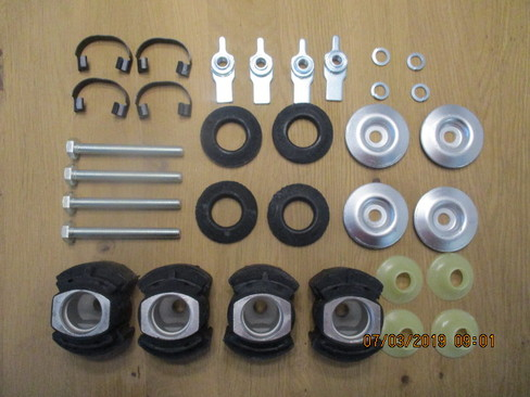 Repair kit front axle beam